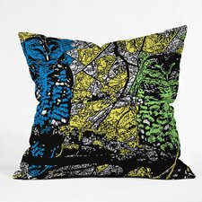 <strong>DENY Designs</strong> Romi Vega Polyester Bright Owl Indoor / Outdoor Throw Pillow