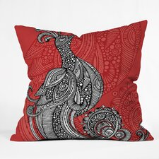 <strong>DENY Designs</strong> Valentina Ramos The Bird Indoor/Outdoor Polyester Throw Pillow