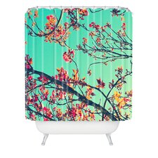<strong>DENY Designs</strong> Shannon Clark Polyester Summer Bloom Shower Curtain