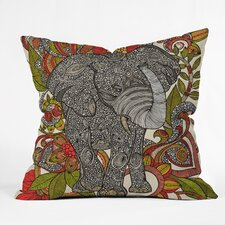 <strong>DENY Designs</strong> Valentina Ramos Bo The Elephant Indoor/Outdoor Polyester Throw Pillow