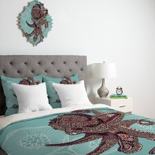 Valentina Ramos Octopus Bloom Duvet Cover Collection