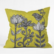 <strong>DENY Designs</strong> Valentina Ramos Green Garden Indoor/Outdoor Polyester Throw Pillow