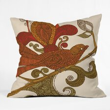 <strong>DENY Designs</strong> Valentina Ramos The Bird Polyester Throw Pillow