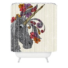 Valentina Ramos Polyester Unicornucopia Shower Curtain