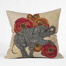 <strong>DENY Designs</strong> Valentina Ramos Rosebud Indoor/Outdoor Polyester Throw Pillow