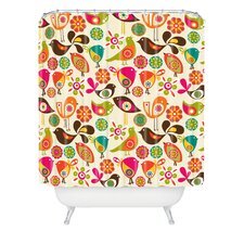 <strong>DENY Designs</strong> Valentina Ramos Polyester Little Birds Shower Curtain