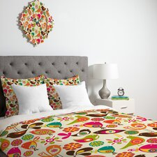<strong>DENY Designs</strong> Valentina Ramos Little Birds Duvet Cover