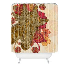 <strong>DENY Designs</strong> Valentina Ramos Polyester The Giraffe Shower Curtain