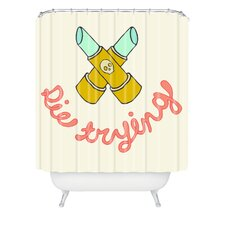 <strong>DENY Designs</strong> Wesley Bird Polyester Die Trying Shower Curtain