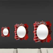 <strong>DENY Designs</strong> Aimee St Hill Phone Box Quatrefoil Mirror