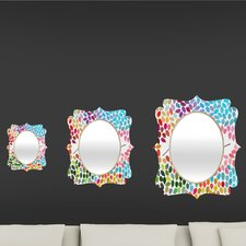 Garima Dhawan Dots Imagine 1 Quatrefoil Mirror