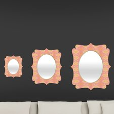 Cori Dantini Ikat 4 Quatrefoil Mirror