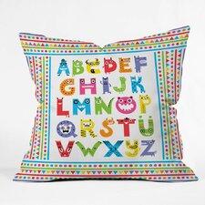 Andi Bird Woven Polyester Throw Pillow