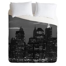 Leonidas Oxby New York Financial District Microfiber Duvet Cover