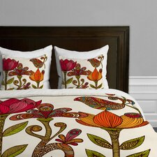 Valentina Ramos In the Garden Microfiber Duvet Cover