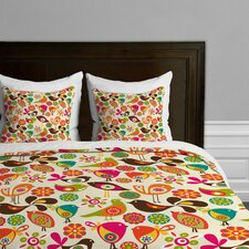 Valentina Ramos Little Birds Microfiber Duvet Cover