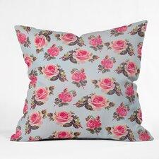 Allyson Johnson Roses Outdoor Throw Pillow