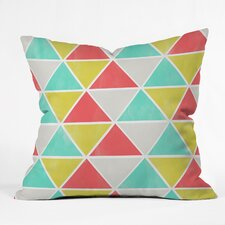 Allyson Johnson Summer Triangles Outdoor Throw Pillow