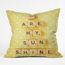 Happee Monkee You Are My Sunshine Outdoor Throw Pillow