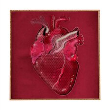 HeArt Plaque 1 by Deniz Ercelebi Framed Graphic Art Plaque