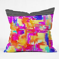Holly Sharpe Colorful Chaos 1 Outdoor Throw Pillow