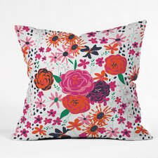 Vy La Bloomimg Love 1 Outdoor Throw Pillow