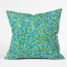 Joy Laforme Wild Daisies Outdoor Throw Pillow