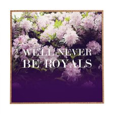 Royals by Leah Flores Framed Photographic Print Plaque