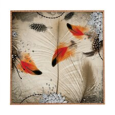Feather Dance by Iveta Abolina Framed Graphic Art Plaque