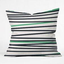 Khristian A Howell Crew Stripe Cool Outdoor Throw Pillow
