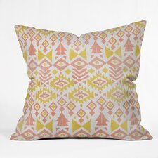 Loni Harris Tribal Party Outdoor Throw Pillow