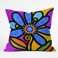 Steven Scott Cosmic Daisy in Outdoor Throw Pillow