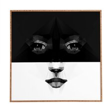 Luna by Three of Thee Possessed Framed Graphic Art Plaque