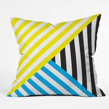 Three Of The Possessed Wave Outdoor Throw Pillow
