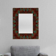 Wagner Campelo Mandala 3 Rectangular Mirror