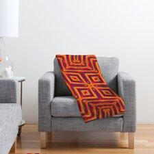 Wagner Campelo Sanchezia X Polyester Fleece Throw Blanket
