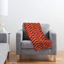 Wagner Campelo Sanchezia 1 Polyester Fleece Throw Blanket