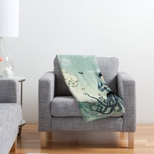 Belle13 Sea Fairy Polyester Fleece Throw Blanket