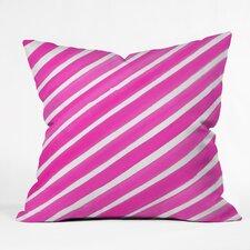 Rebecca Allen Pretty in Stripes Outdoor Throw Pillow