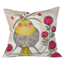 Cori Dantini Sweetness and Light Woven Polyester Throw Pillow