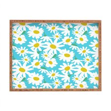 Zoe Wodarz Daisy Do Right Rectangle Tray