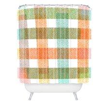 Zoe Wodarz Pastel Plaid Shower Curtain