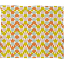 Hello Twiggs Bring Summer Back Fleece Throw Blanket