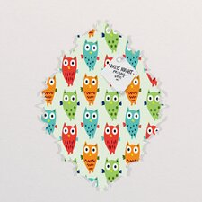 Andi Bird Owl Fun Baroque Memo Board