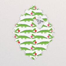 Andi Bird Alligator Love Baroque Magnet Board