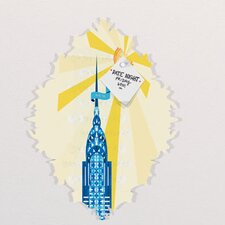 Jennifer Hill New York City Chrysler Building Baroque Bulletin Board