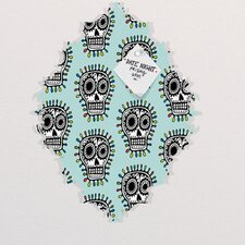 Andi Bird Sugar Skull Fun Baroque Memo Board