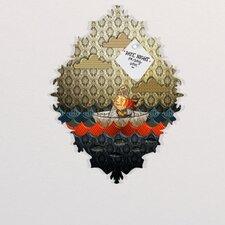 Jose Luis Guerrero Paper Boat Baroque Magnet Board