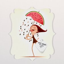 Jose Luis Guerrero Watermelon Quatrefoil Magnet Board