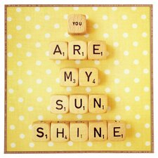 You Are My Sunshine by Happee Monkee Photographic Print on Canvas